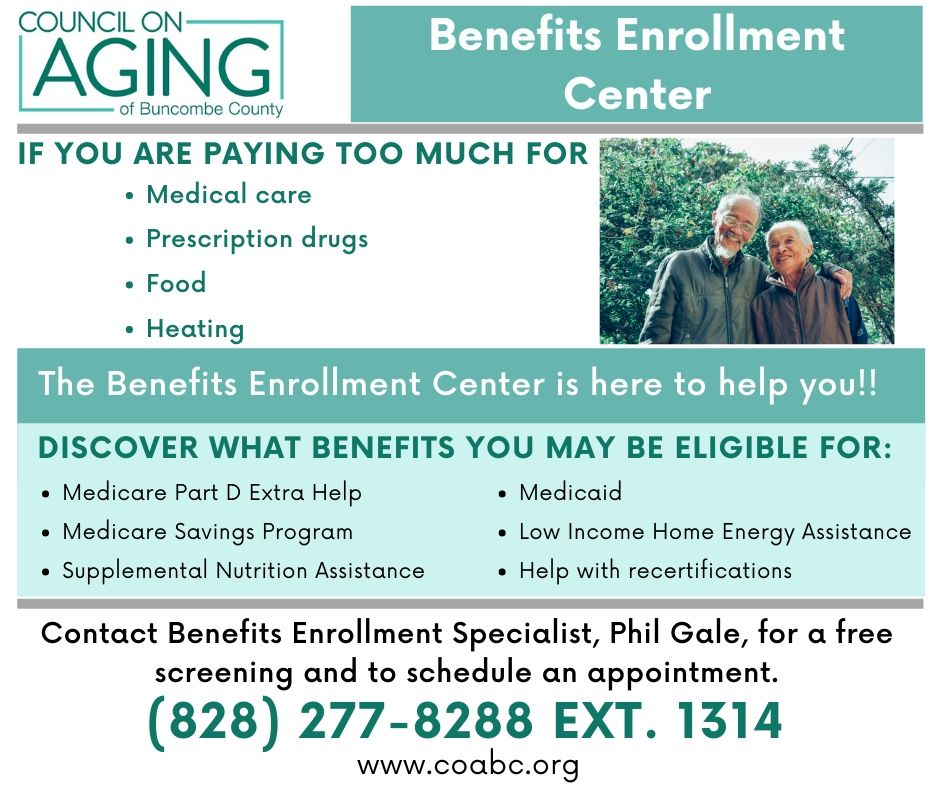 Benefits Enrollment helps low income Medicare beneficiaries save money and access important services